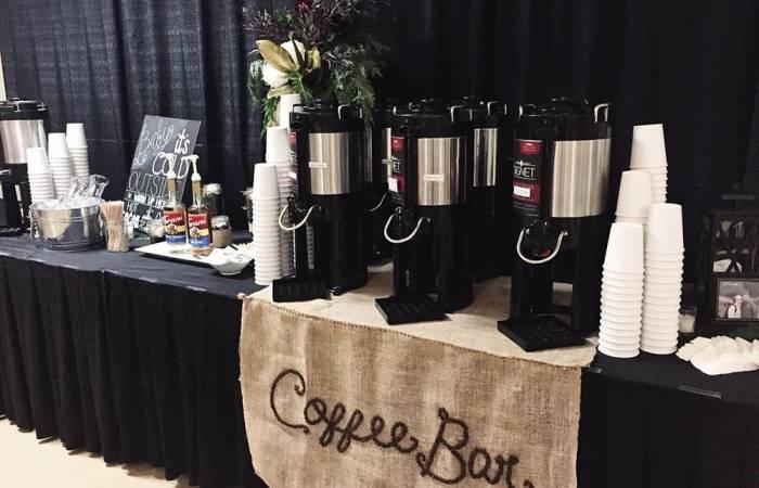 signet coffee roasters event coffee bar