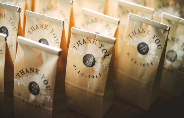 signet coffee roasters wedding favors