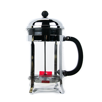 bodum chambord chrome french press 12 cup signet coffee roasters. Black Bedroom Furniture Sets. Home Design Ideas